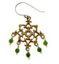 Barnes Metalwork Earrings, Jade