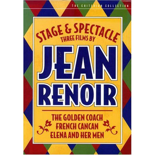 Stage & Spectacle: 3 Films by Jean Renoir