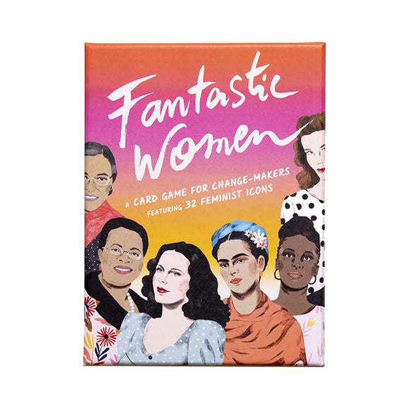 Fantastic Women: Feminist Icon card game