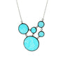 Stained Glass Circles necklace