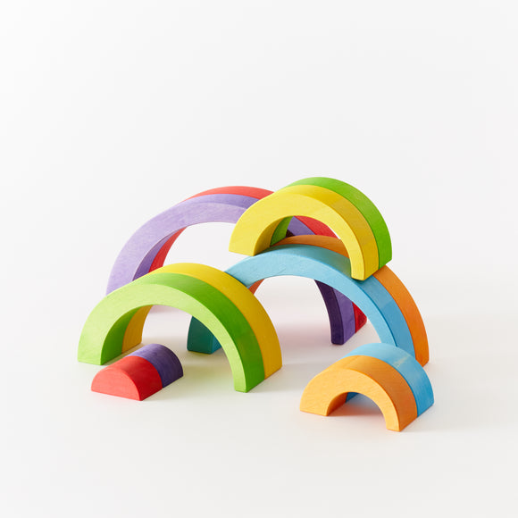 Rainbow Bow Blocks