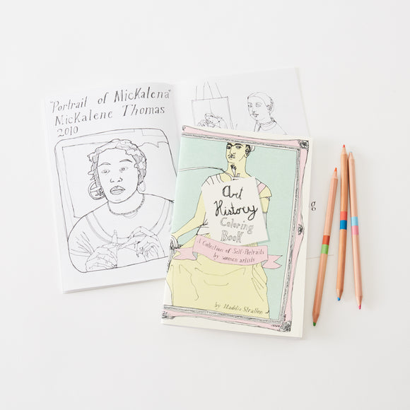 Self Portraits by Female Artists Coloring Book