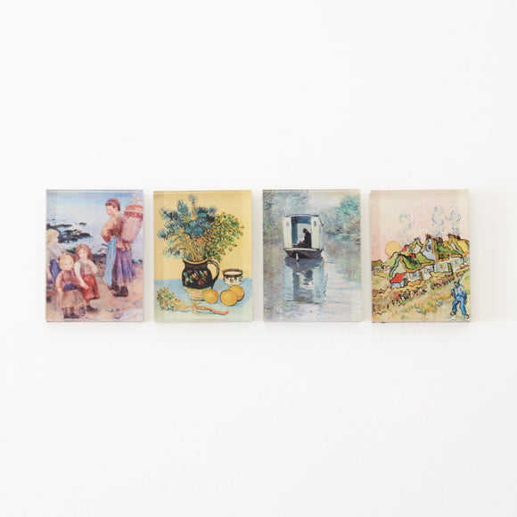 Barnes Foundation Masterworks Mini Magnet Set of 4