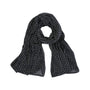 Mali Night block-printed cotton scarf