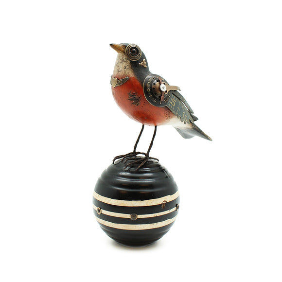 Song Bird on Croquet Ball