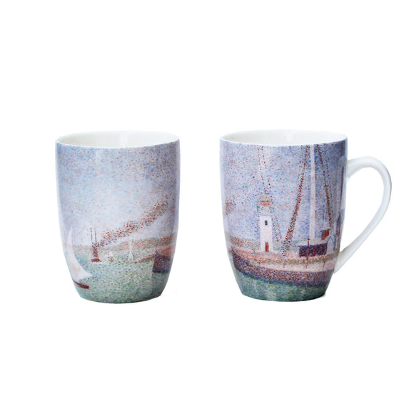 "Seurat ""Entrance of the Port of Honfleur"" Mug"