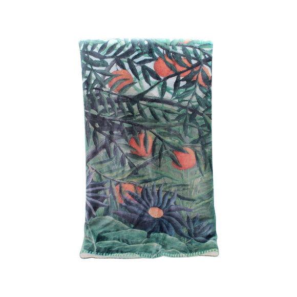 Fine Art Blanket: Rousseau Forest