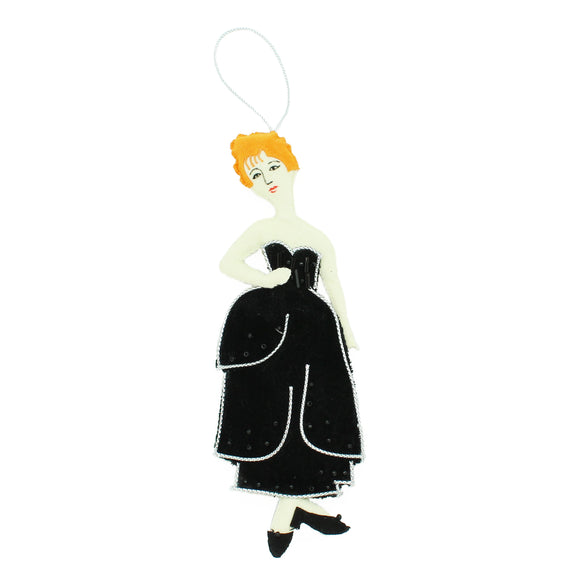 "Modigliani ""Redheaded Girl"" Ornament"