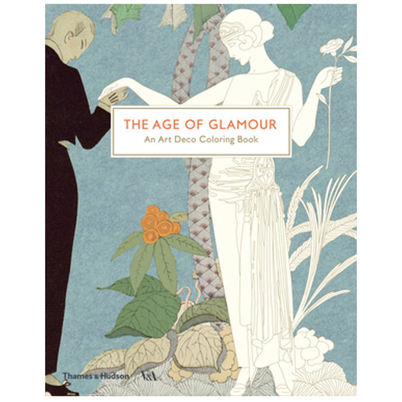 The Age of Glamour: Art Deco Coloring Book