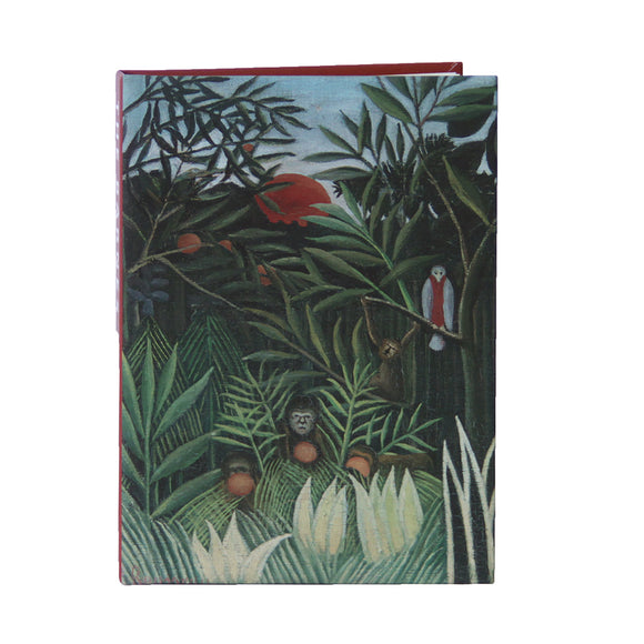 Rousseau's Monkeys and Parrot Lined Notebook