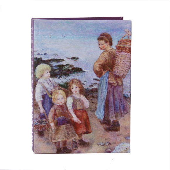 Renoir - Mussel-Fishers at Berneval Lined Notebook