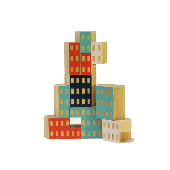 Blockitecture Building Set, Habitat