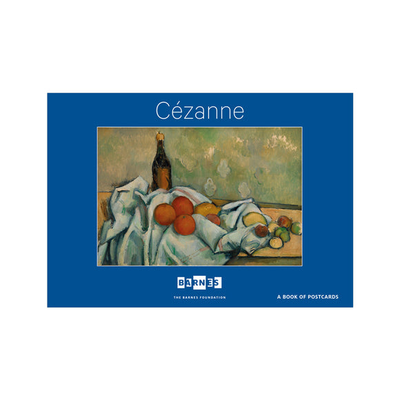 Paul Cézanne in the Barnes Book of Postcards