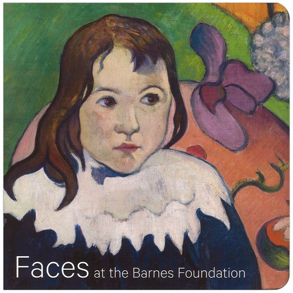 "Cover of ""Faces at the Barnes Foundation"""