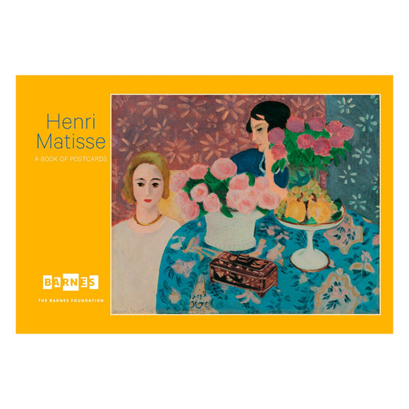 Henri Matisse in the Barnes Book of Postcards