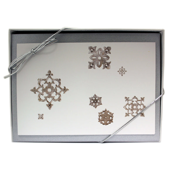 Metalwork Snowflake Notecards