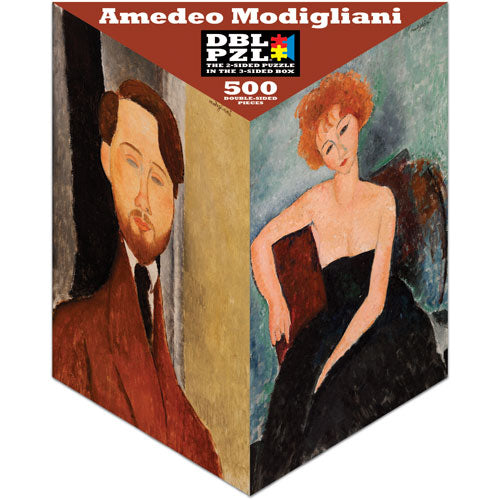 Modigliani Double-Sided 500-piece Puzzle