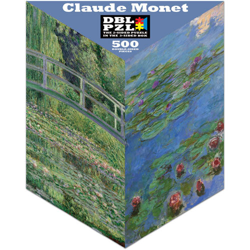 Monet Double-Sided 500-piece Puzzle
