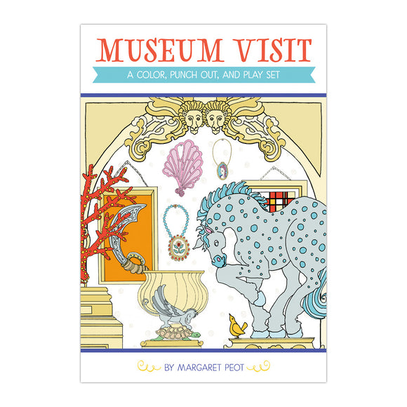 Museum Visit: A Color, Punch Out, and Play Set