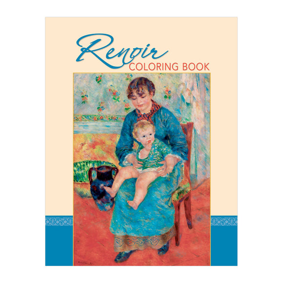 Pierre-Auguste Renoir Coloring Book