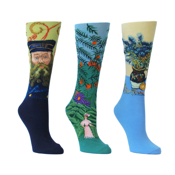 Artwork Socks: Barnes Exclusive trio