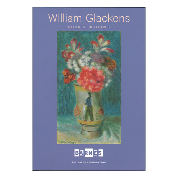 William Glackens Flowers Notecard Folio