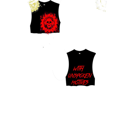 DEALING WITH UNSPOKEN MOTIVES WOMANS CUT OFF/sleeveless