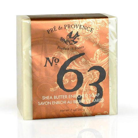 Pré de Provence No.63 Men's Shea Butter Enriched Soap