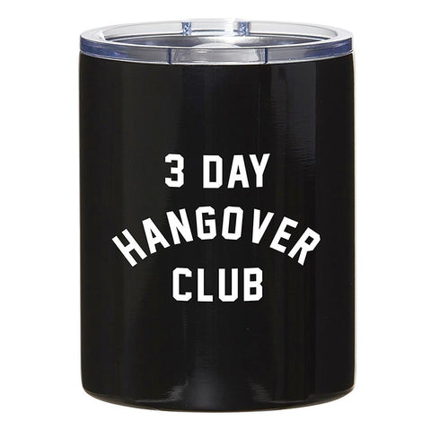 3 Day Hangover Club Travel Tumbler