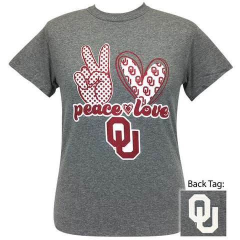 Peace Love OU T-Shirt