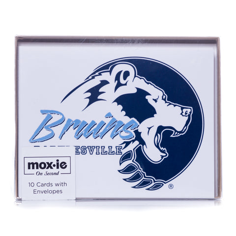 10 Bruin Note Cards with Envelopes