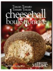 Tuscan Tomato Cheeseball