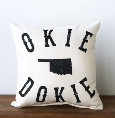 Okie Dokie Pillow