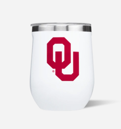 OU Stemless Cup by Corkcicle 12 oz.