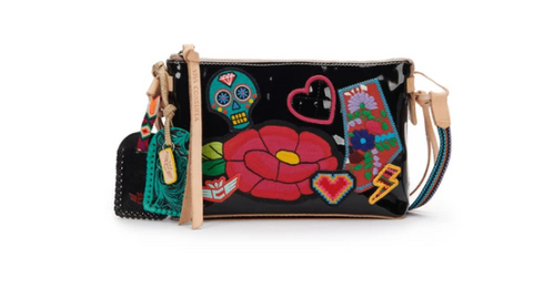 Teeny Crossbody  Poppy Black Midtown