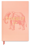 "Elephant ""Forget It"" Book Bound Journal"