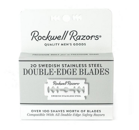 Rockwell Razors Blades 20 Pack