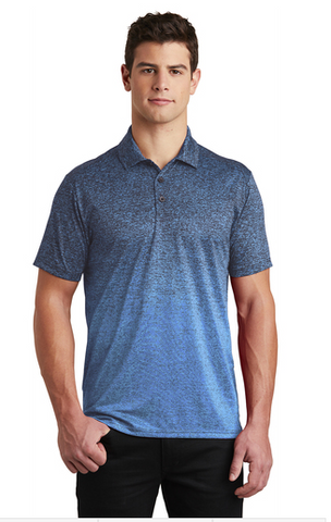 Tri County Men's Ombre Navy Polo