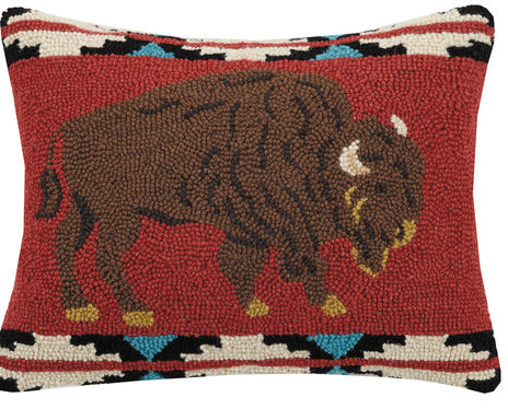 Where the Buffalo Roam Pillow 14x18