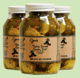 Spicy Sweet Pickles ( MIO )