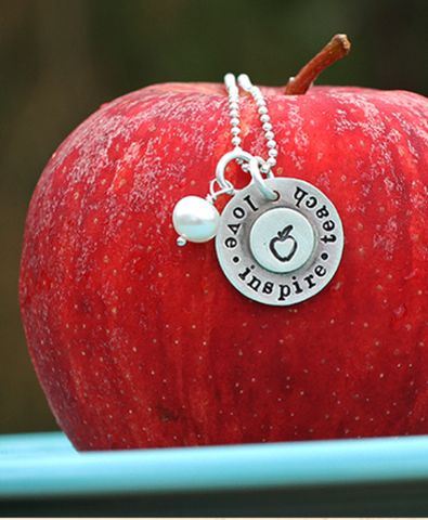 Love Inspire Teach Necklace
