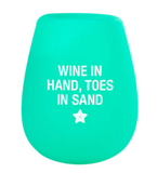 Silicone Stemless Wine Glasses