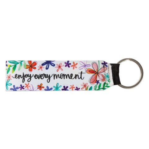 Enjoy Every Moment Key Chain