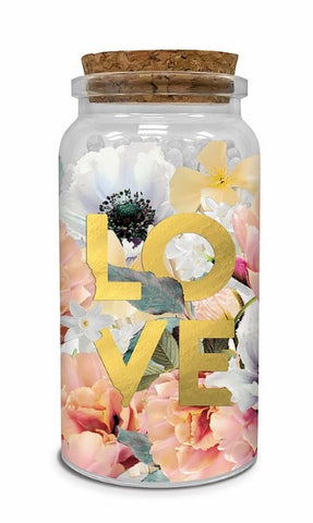 Decorative Matches in Glass Jar w/Cork Lid ( Love )