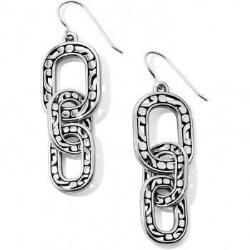 Contempo Linx French Wire Earrings by Brighton