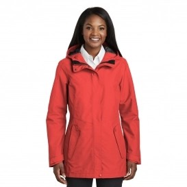Collective Outer Shell Jacket in Red Pepper