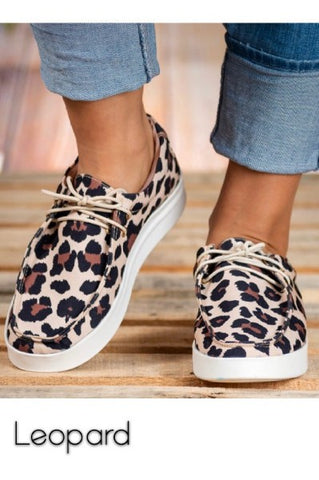 Leopard Sneakers Bruh 1 by Miami Shoes