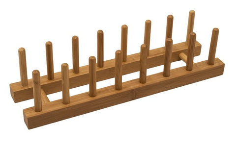 7 Slot Bamboo Rack