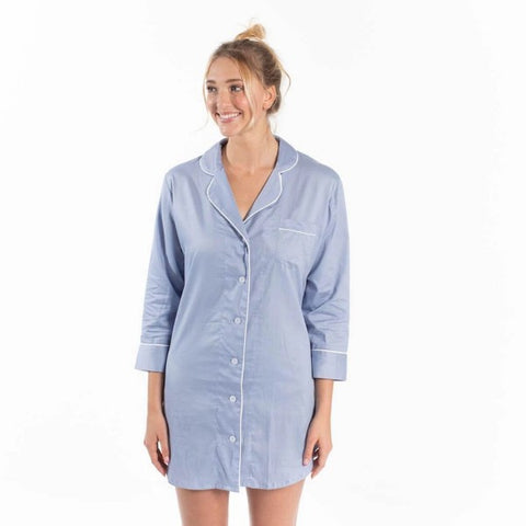 Button Down Sleep Shirts