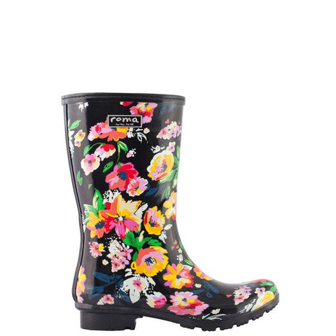 Roma Rainboots in Emma Floral